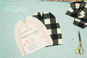 Simple Fleece Slouchy Beanie Diy  Free Pattern   U2665 Fleece Fun