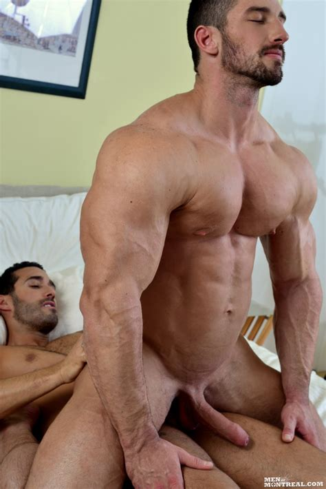 Men Of Montreal Alexy Tyler And Christian Power Muscle
