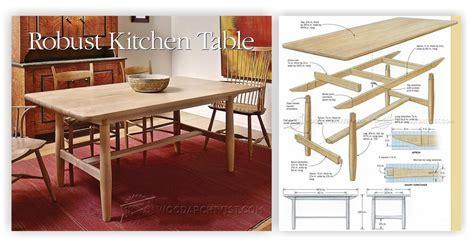 Build Kitchen Table ? WoodArchivist