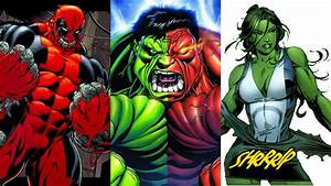 27 Marvel Comics Characters Who've Gained The Hulk's Powers