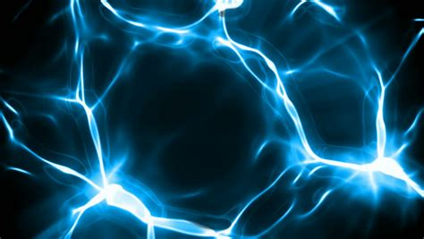 Blue Light Energy by Blue Energy Flows Motion Background Stock Footage
