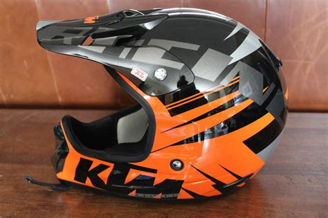 Ktm Motorcycle Helmet (racing Pro, Men's Used Dirt Bike