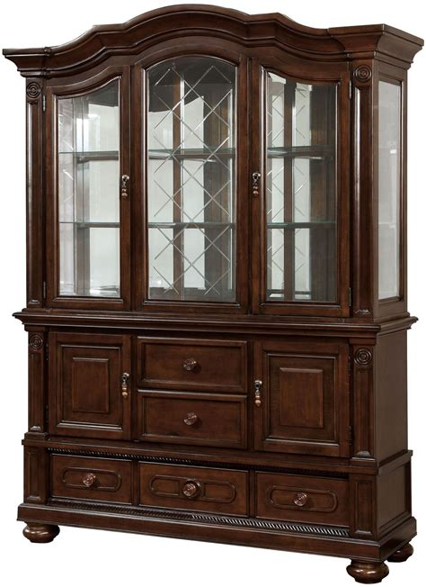 Cherry Buffet And Hutch - alpena brown cherry hutch and buffet from furniture of