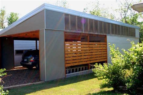 enclosed garage ideas 17 best ideas about enclosed carport on pinterest carport designs carport ideas and modern