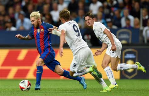 Lionel Messi 'wasn't interested' in playing Leicester in ...