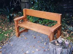 Wood Bench Plans Edgoode Simple Bench Plans Treenovation