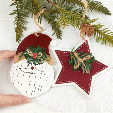 primitive christmas ornament  sale holiday crafts