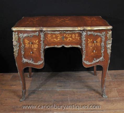 bureau louis antique louis xv knee desk writing table bureau 1920