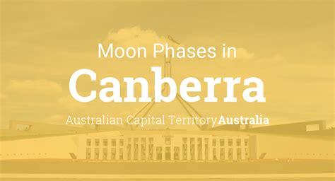moon phases  lunar calendar  canberra australian