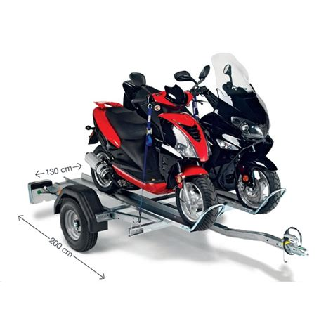 remorque porte 2 motos 500 kg norauto pm2 norauto fr