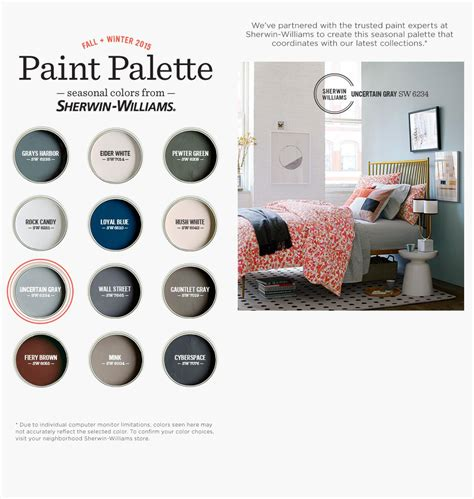 2015 fall winter palette from sherman williams design