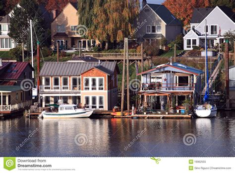 Living On A Boat Oregon by Living On The Water Portland Oregon Royalty Free Stock
