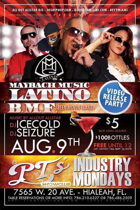 Maybach Latino At Pt's Showclub In Hialeah