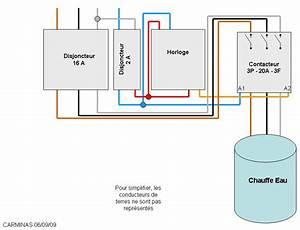 Branchement Contacteur Chauffe Eau : pin branchement pompe on pinterest ~ Voncanada.com Idées de Décoration