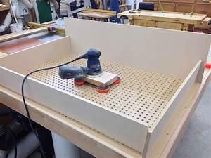 Paul's Assembly/Downdraft Table - The Wood Whisperer