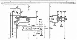 Acura Legend  1991  - Wiring Diagram  Washer