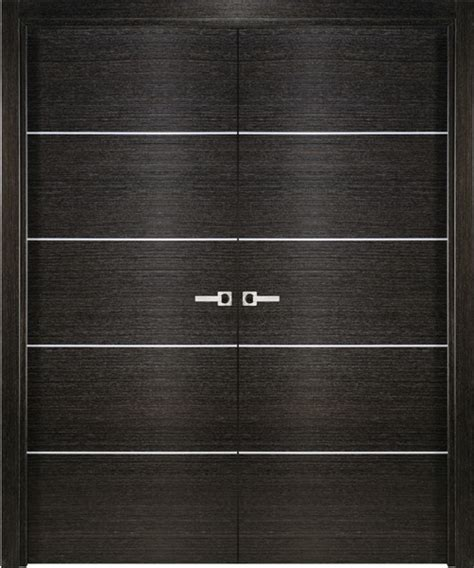 modern interior double door italian black apricot