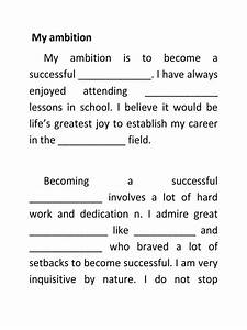 essay on my ambition in life
