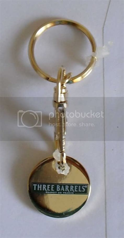 official  barrels brandy key ring locker coin  ebay