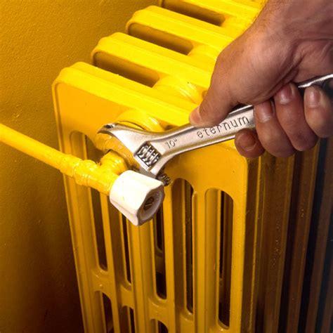 comment entretenir des radiateurs de chauffage central