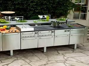 Modular Outdoor Kitchens for Garden : Amazing Modular