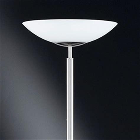 uplighter floor l glass shades wofi lighting mikkeli modern energy saving nickel matt