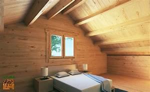 Lame Bois Pour Construction Chalet : chalet habitable de prestige avec mezzanine de 68 m en kit ~ Melissatoandfro.com Idées de Décoration