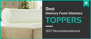 1 best memory foam mattress toppers jan 2018 reviews With best mattress pad for memory foam bed