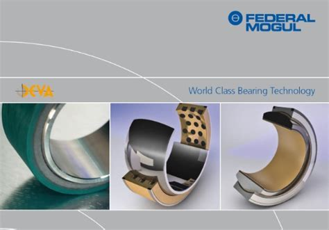 Federal-Mogul displays lead-free bearings and new seal ...