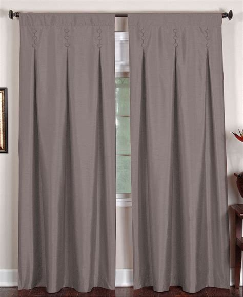 Macys Curtains And Window Treatments by Elrene Window Treatments Imperial 26 Quot X 84 Quot Panel