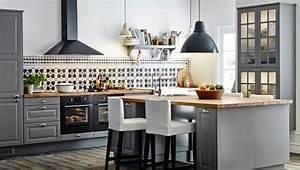 Große Kissen Ikea : landhausk che ikea grau ~ Michelbontemps.com Haus und Dekorationen