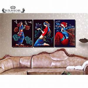 Compare prices on exotic flower pictures online shopping for Best brand of paint for kitchen cabinets with cross stitch wall art