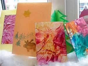Basteln Mit Wachs : weihnachtskarten basteln mit wachs und b geleisen k nste von elke ~ Orissabook.com Haus und Dekorationen