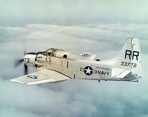 Douglas Ea1e Skyraider Ad5w Plans