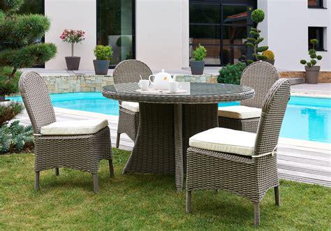 table et chaise de jardin en resine awesome salon de jardin table ronde photos amazing house