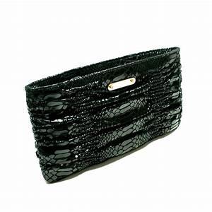 Michael Kors Webster Black Genuine Leather Clutch/ Wallet ...