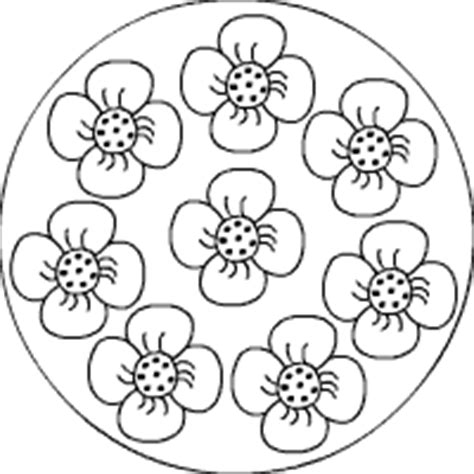 pflanzen mandalas im kidswebde