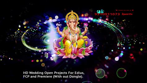 God Animation Wallpaper Free - hd lord ganesh background animated 4k wedding