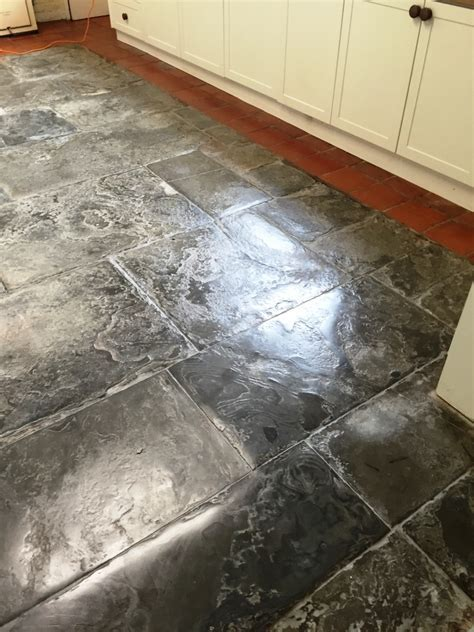 Old Worcester Kitchen Farmhouse Floor Refurbished   Tile