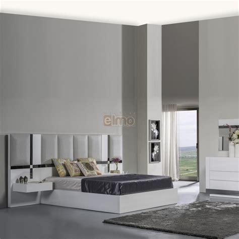 chambre adulte contemporaine tete de lit laque  molleton art