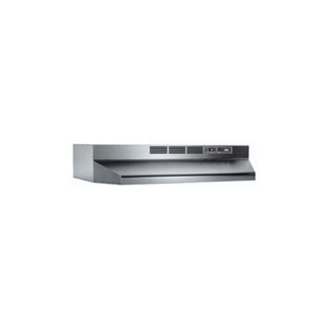 buy the broan nutone 413604 36 quot stainless steel ductless