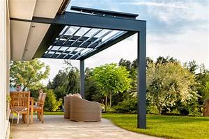Terrassenberdachung Aus Polycarbonat Acryl Oder Glas