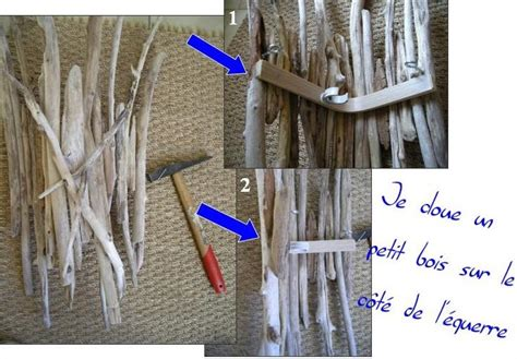 tutoriel pour apprendre 224 fabriquer une applique murale en bois flott 233