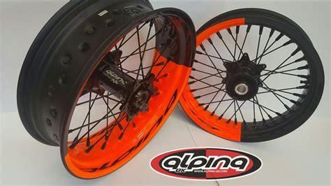 Enduro R Supermoto Alpina Aluminium