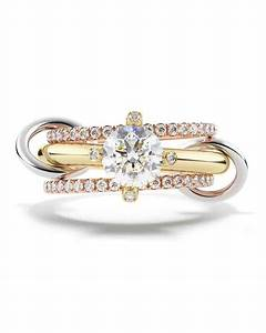 21 unique engagement rings you39ll love martha stewart With unique wedding ring styles