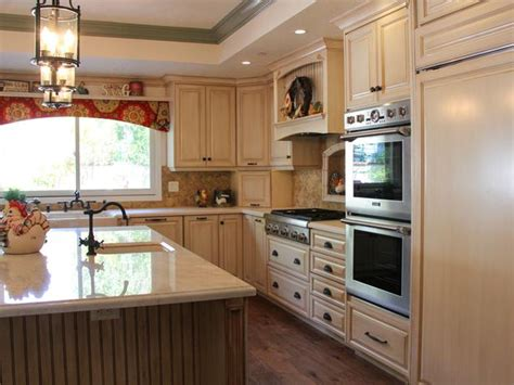 Integrated Refrigerator With Wall Ovens And Prep Sink