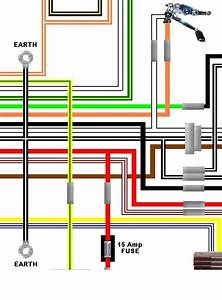 Suzuki Gs450l 1982 Usa Spec Colour Electrical Wiring Diagram