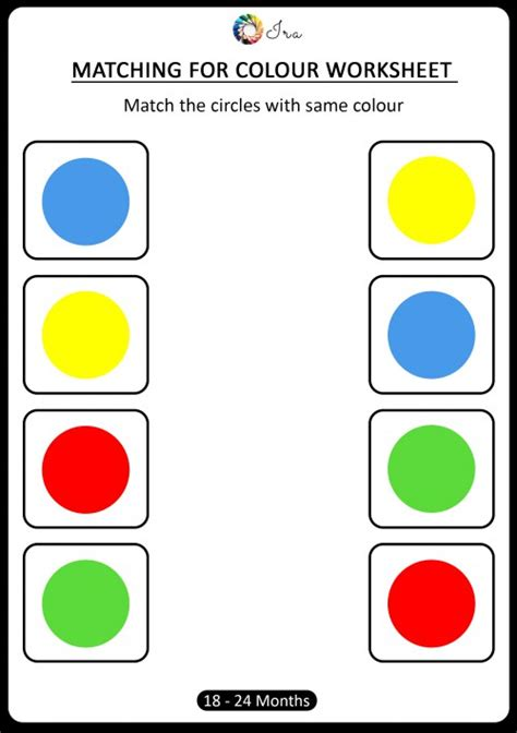 color matching activities for preschool free downloadable matching colors worksheets 18 24 941