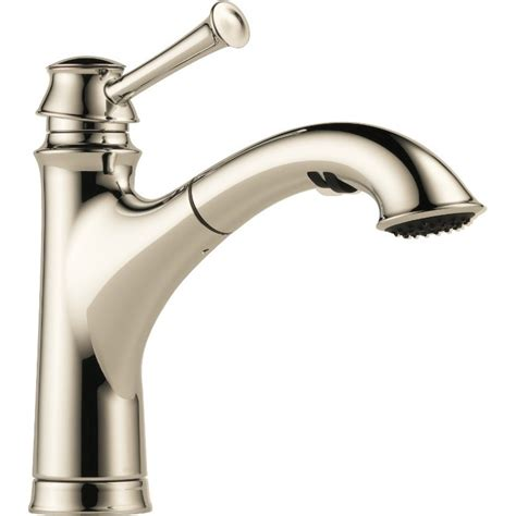 moen pull out kitchen faucet parts buy brizo 63005lf single handle pull out kitchen faucet at