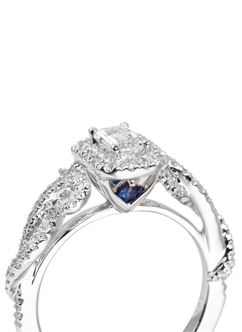 vera wang love east meets west diamond engagement ring